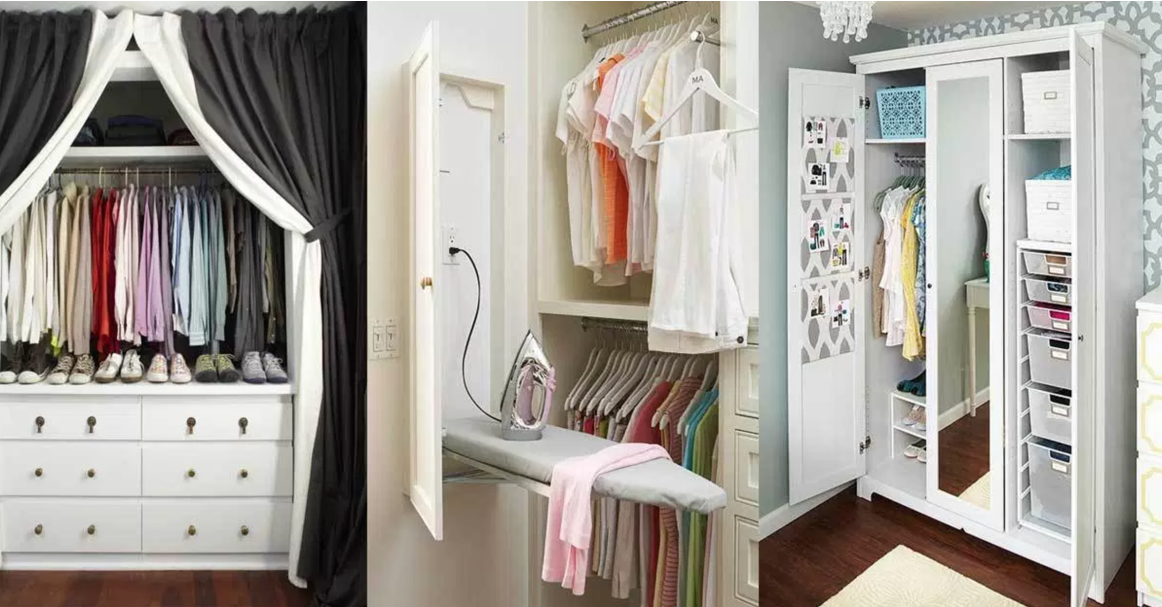Picture of: 12 Clever Closet Organization Hacks